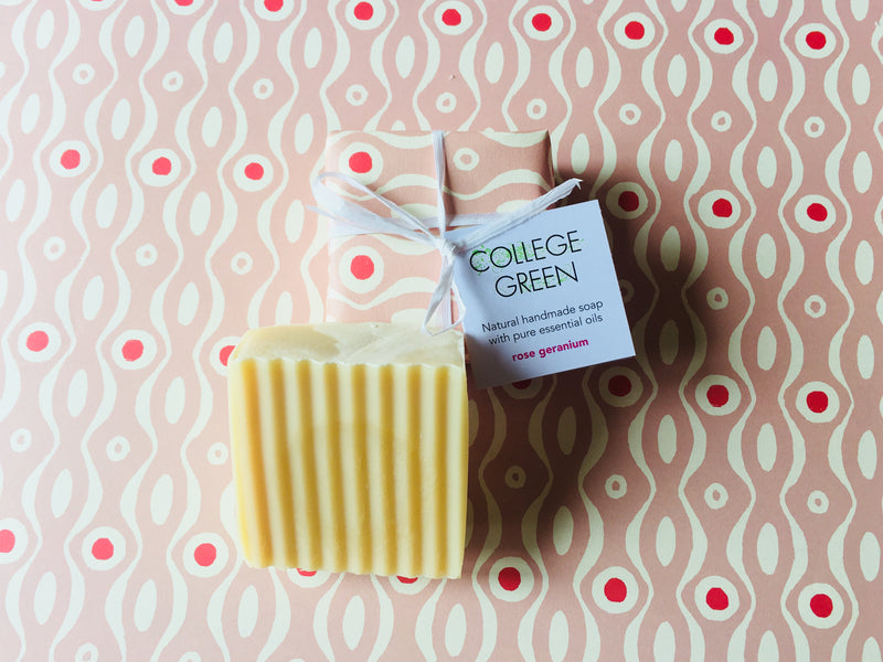 Package-free soaps, and beautifully packaged soaps, at Stroud Farmers' Market this Saturday