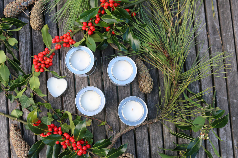 Cosy up with our new seasonal candle range