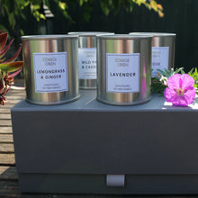Candle gift box - four candles