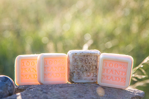 Mini trial soap bars