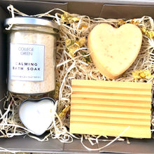 Lemongrass & Ginger soap & bath soak gift set