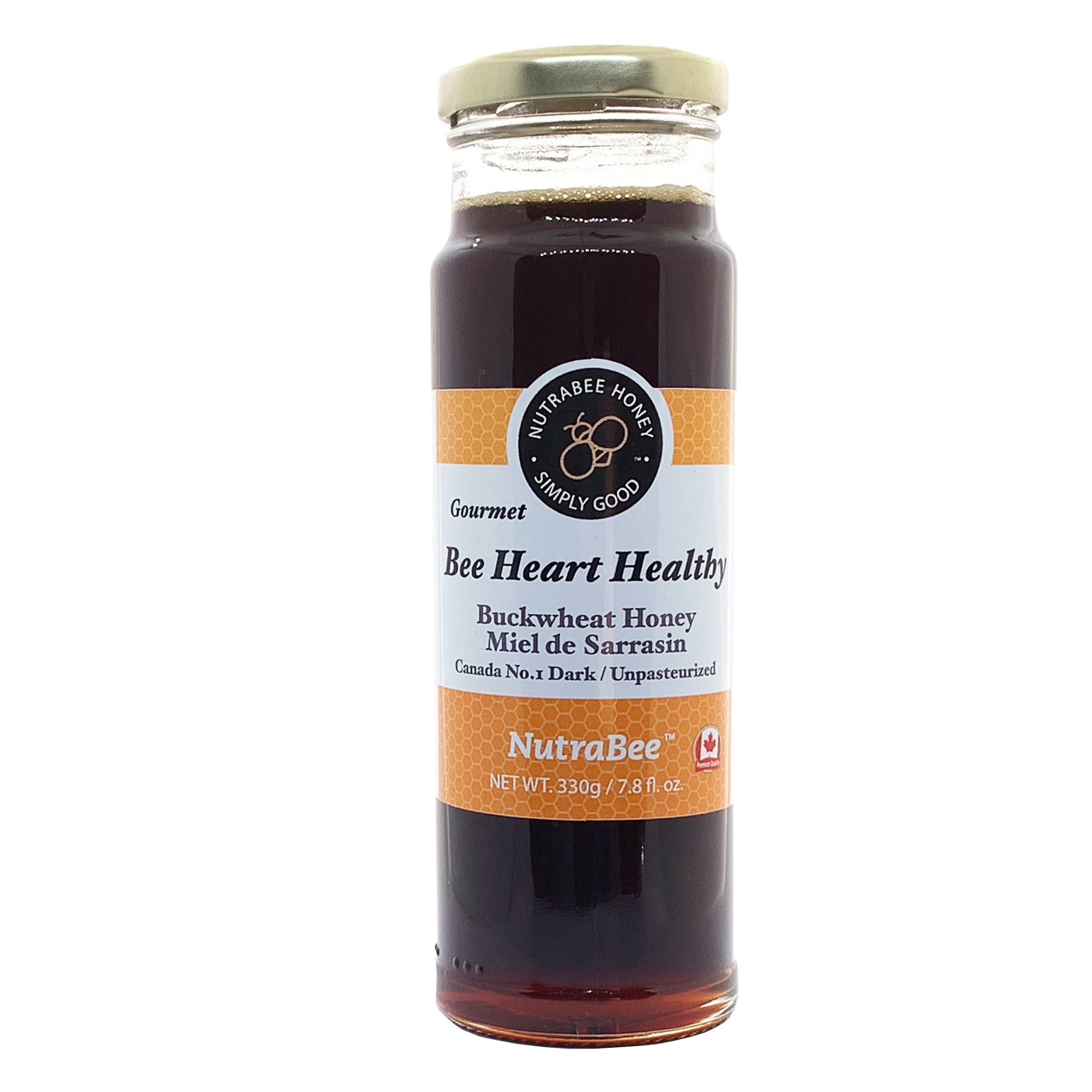 Bee Heart Healthy Buckwheat Honey