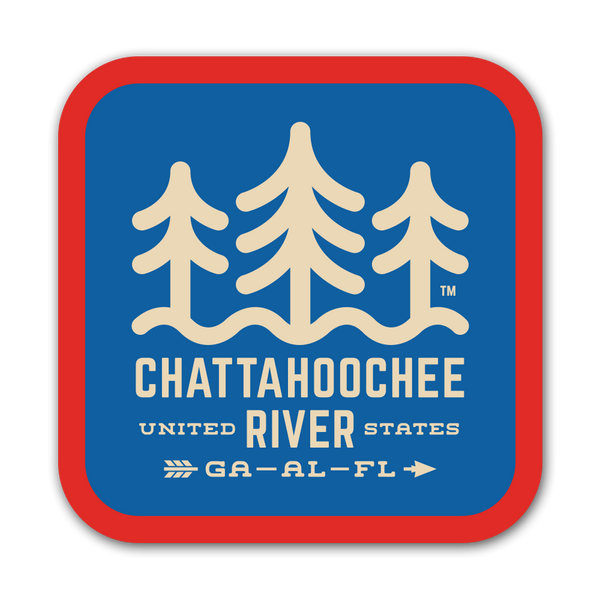 Chattahoochee River - Sticker