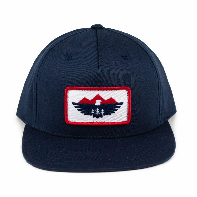 Eagle Patch Flatbill Hat