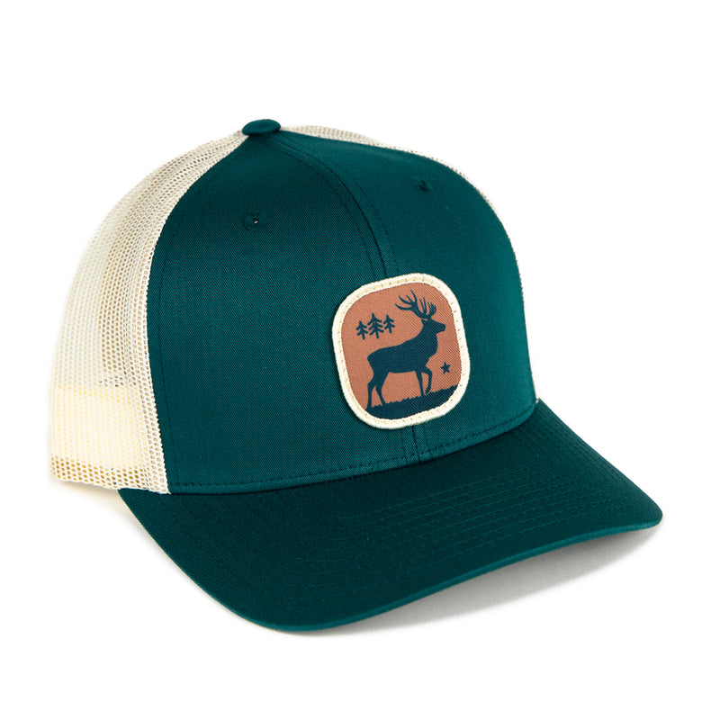 Elk Patch Trucker Hat