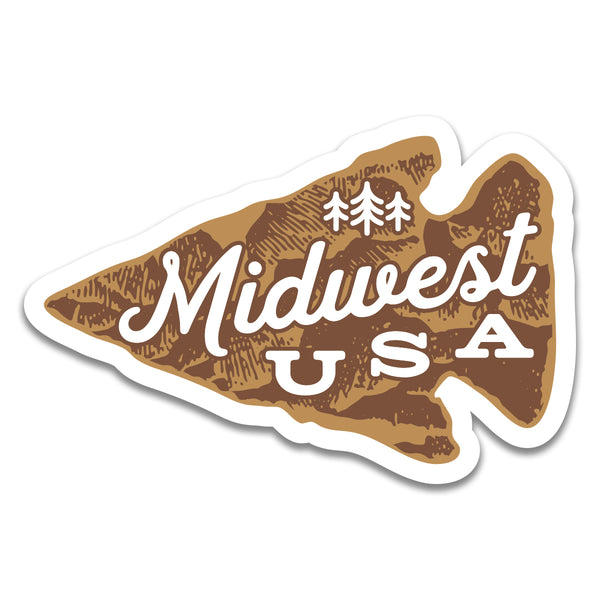 Midwest Arrow - Sticker