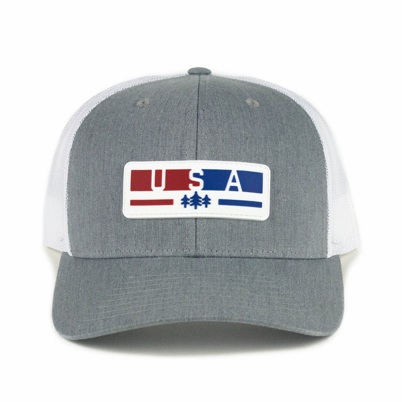 USA Patch Trucker Hat
