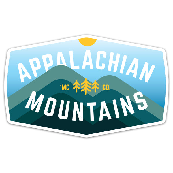 Appalachian Mountains - Sticker