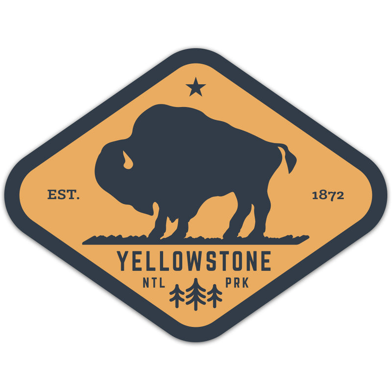 Yellowstone National Park - Sticker