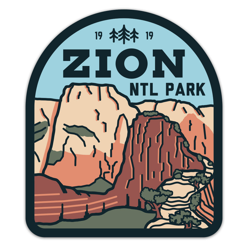 Zion National Park - Sticker