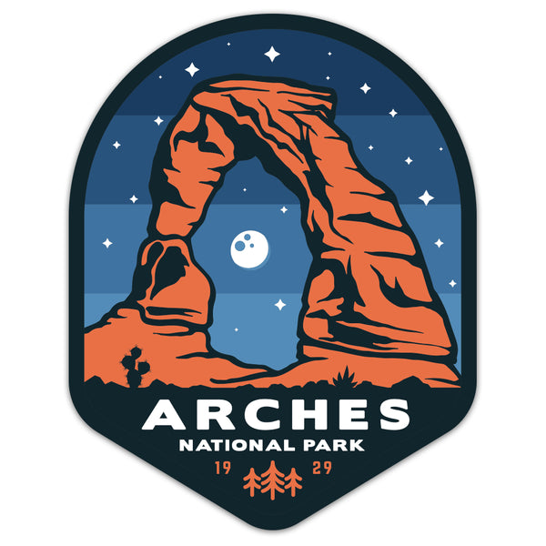 Arches National Park - Sticker