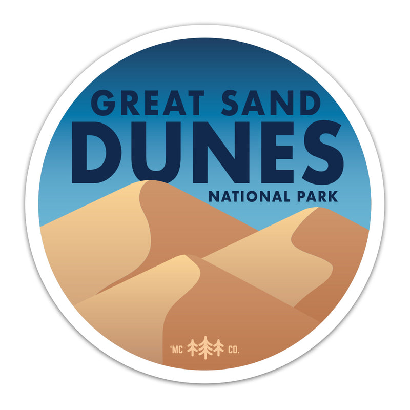 Great Sand Dunes National Park - Sticker