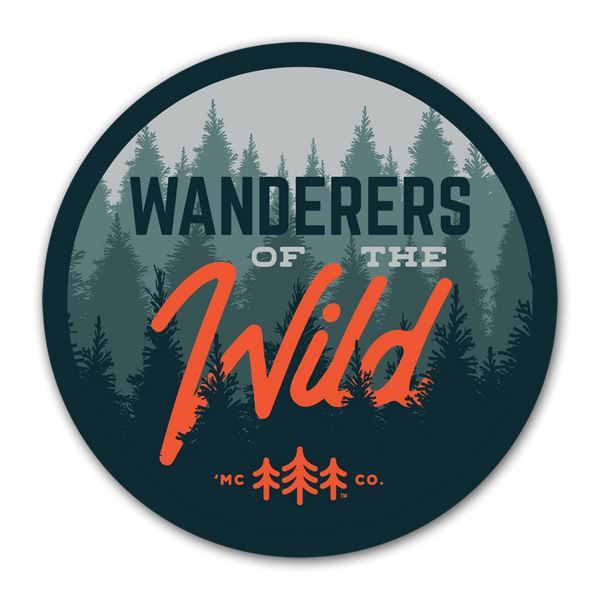 Wanderers of the Wild - Forest - Sticker