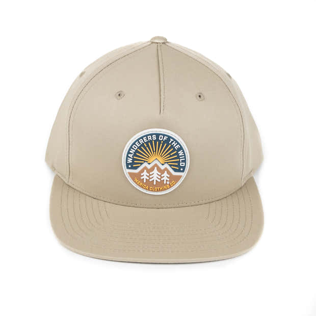 Wanderers of the Wild Patch Flatbill Hat 1