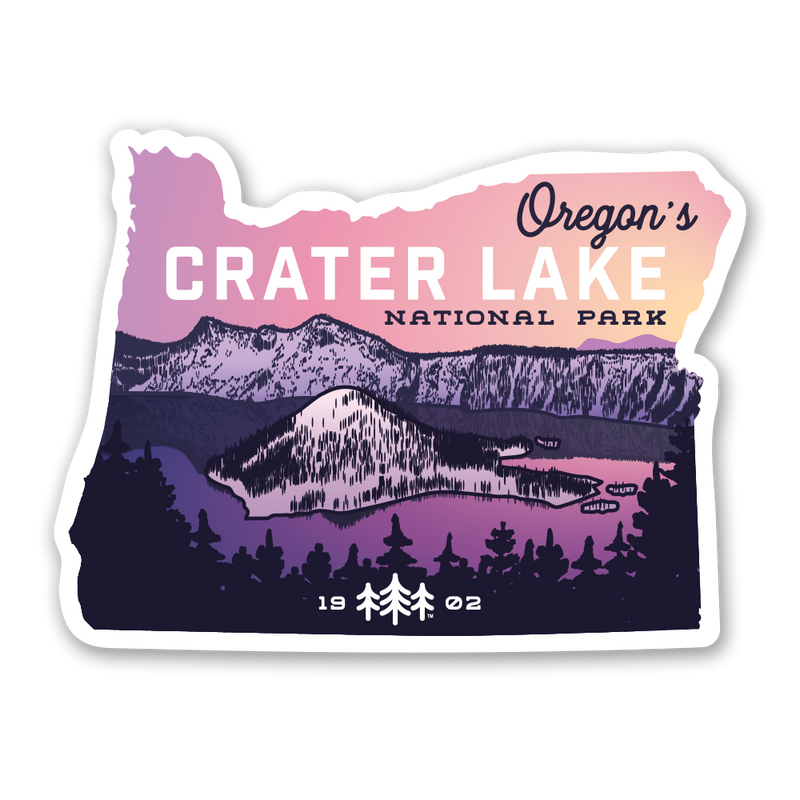 Crater Lake National Park - Sticker