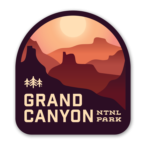 Grand Canyon National Park - Sticker