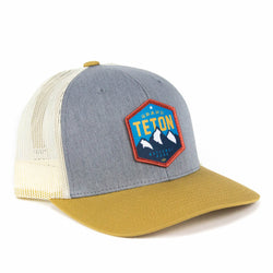 f16773f5ae7 Grand Teton National Park Trucker Hat -  Merica Clothing Co.