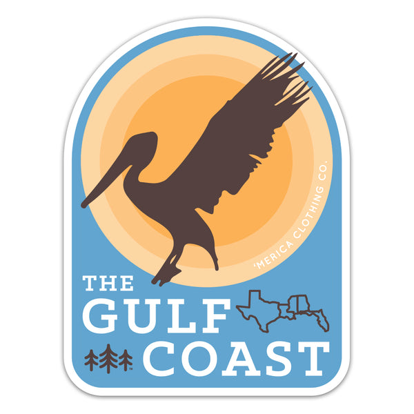 Gulf Coast - Sticker
