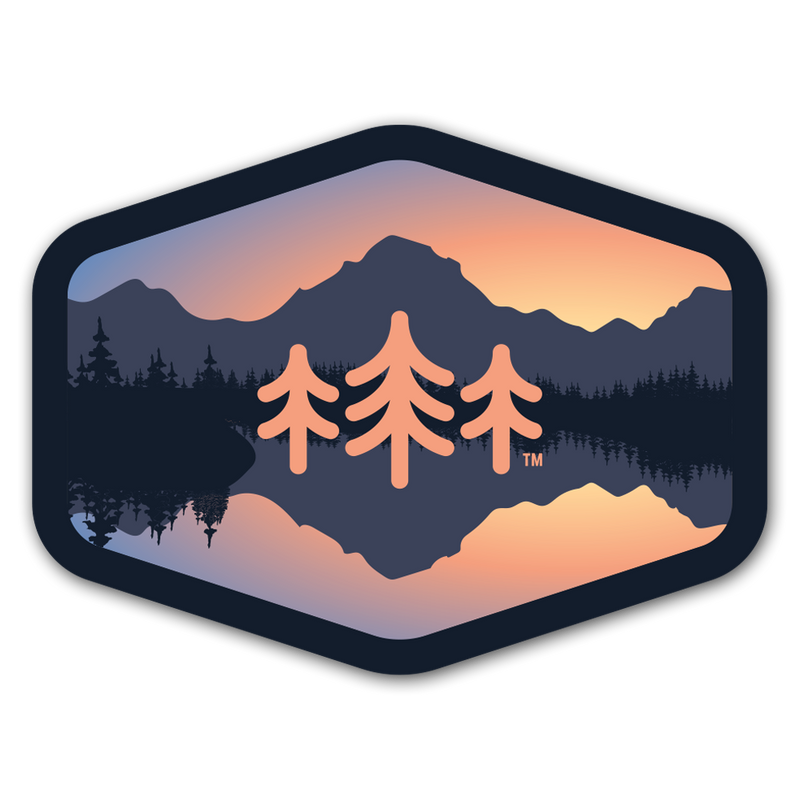 Oxbow Bend - Sticker