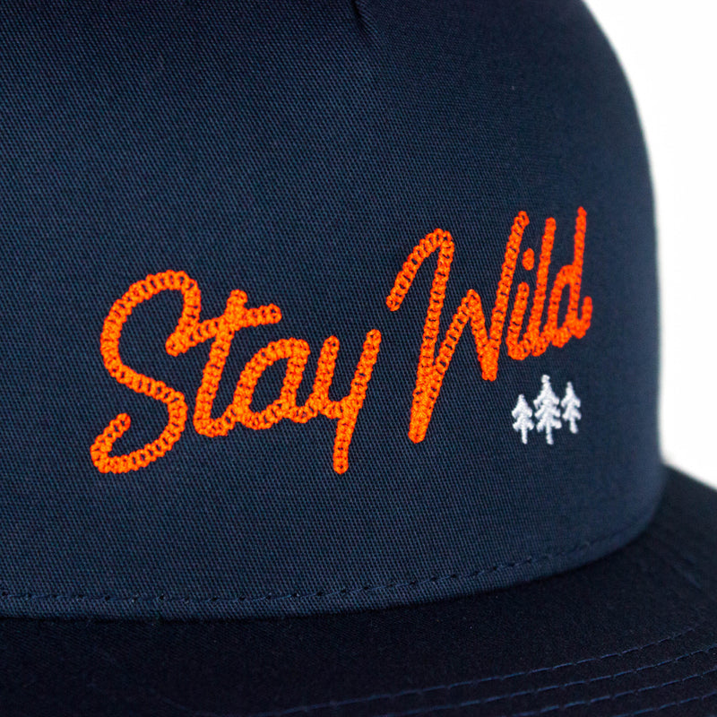 Stay Wild Flatbill Hat