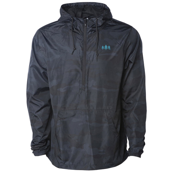 TriPine Half-Zip Lightweight Windbreaker