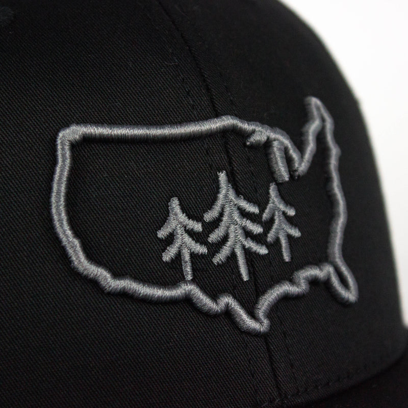 USA TriPine Trucker Hat