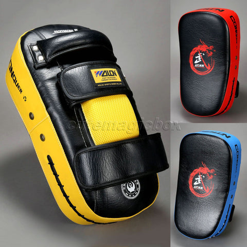 1X Boxing Pad Muay Thai Foot Kick Boxing Pads Strike Curve Pad
