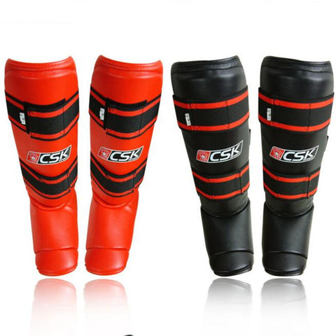 Guards kickboxing Sanda boxing Leggings Ankle protection for MMA Muay thai shin pads