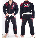 New Design Sunrise Super Cool Python BJJ Gi Black White Python embroidery  Jitsu Gi BJJ  for men women
