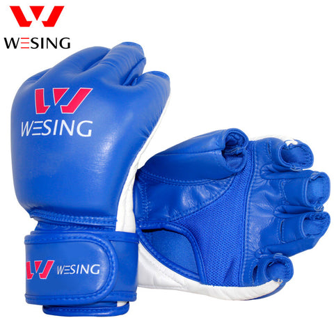 wesing  MMA  half finger boxing gloves thick boxing gloves for fighting