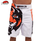 new White Tiger Muay Thai MMA Fighting Shorts boxing muay thai boxing