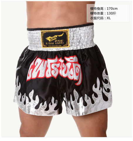 MMA sport clothes man muay thai shorts/ Boxing