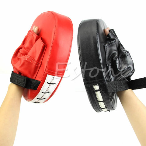 Boxing Mitt Training Focus Target Punch Pad Glove MMA K