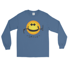 """Smile"" Long Sleeve T-Shirt for Women - Loose Fit"