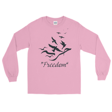 """Freedom"" Long Sleeve T-Shirt for Women - Loose Fit"