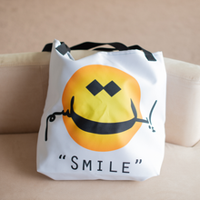"""Smile"" Beach bag (White)"