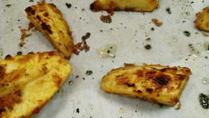 Seasoned Oven Roasted plantains - Ghana Street Snacks!