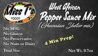West African Pepper Sauce/ Ghana Shetor Mix - SAMPLE