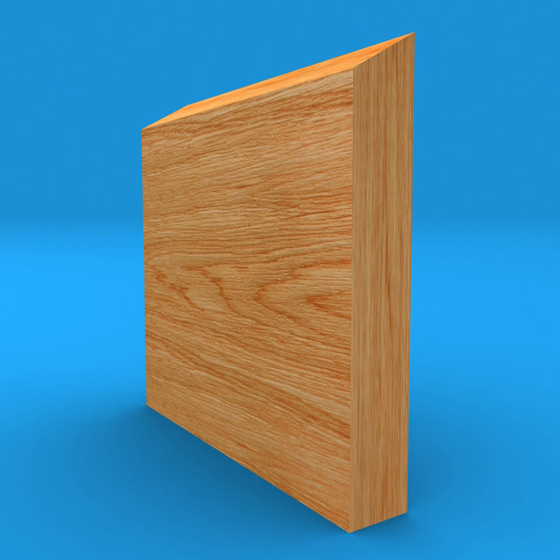 Splay Oak Skirting Board