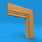 Square Edge V Grooved 2 Oak Architrave