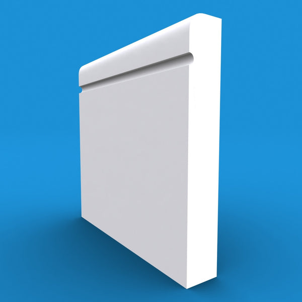 Bullnose C Grooved Skirting Board