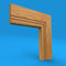 Bullnose Grooved 2 Oak Architrave