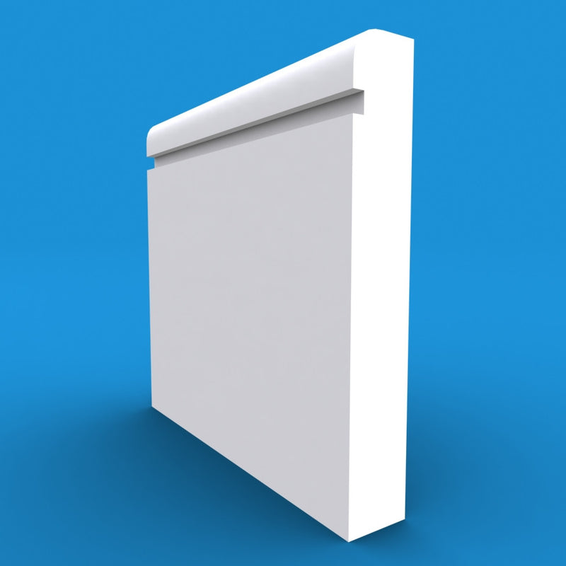 Bullnose Grooved MDF Skirting Board
