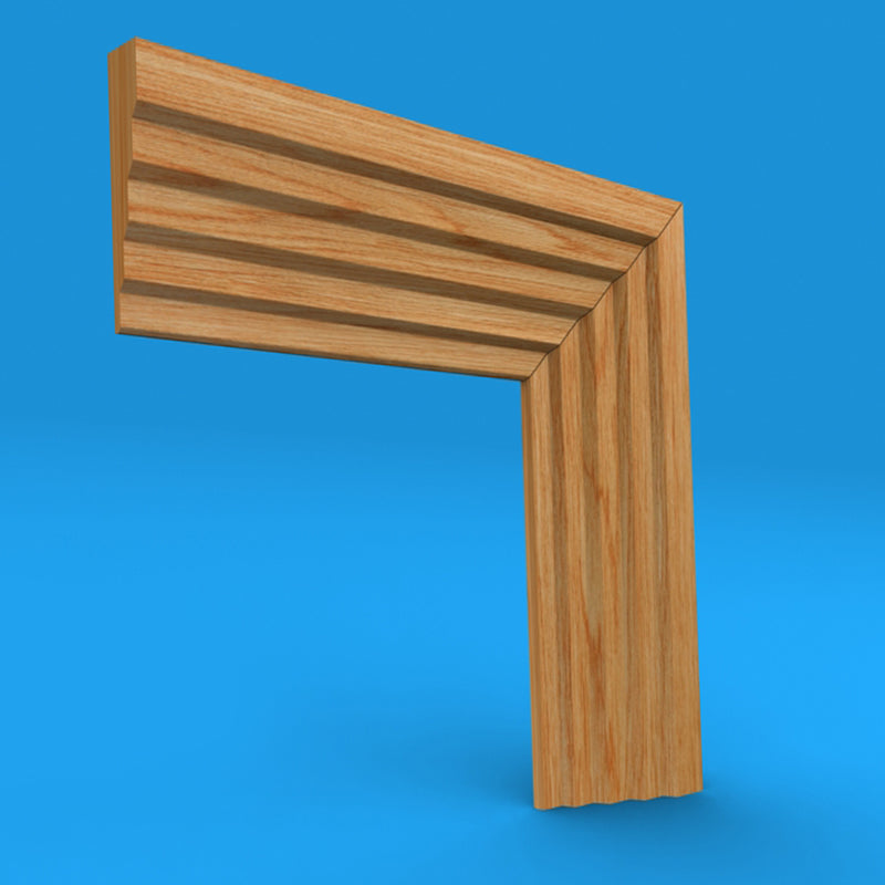 Stepped 3 Oak Architrave