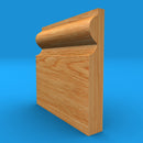 Torus Solid Oak Skirting Board
