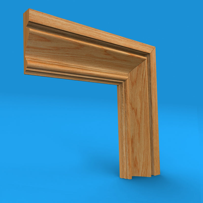 Regency A Oak Architrave