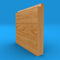 Single Step Solid Oak Skirting Board