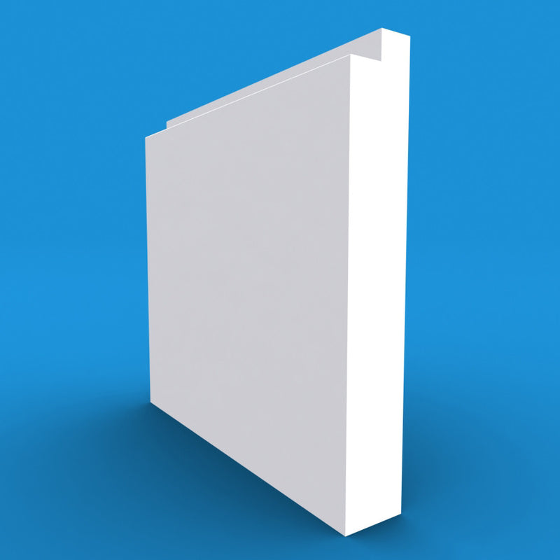 Single Step MDF Skirting Board