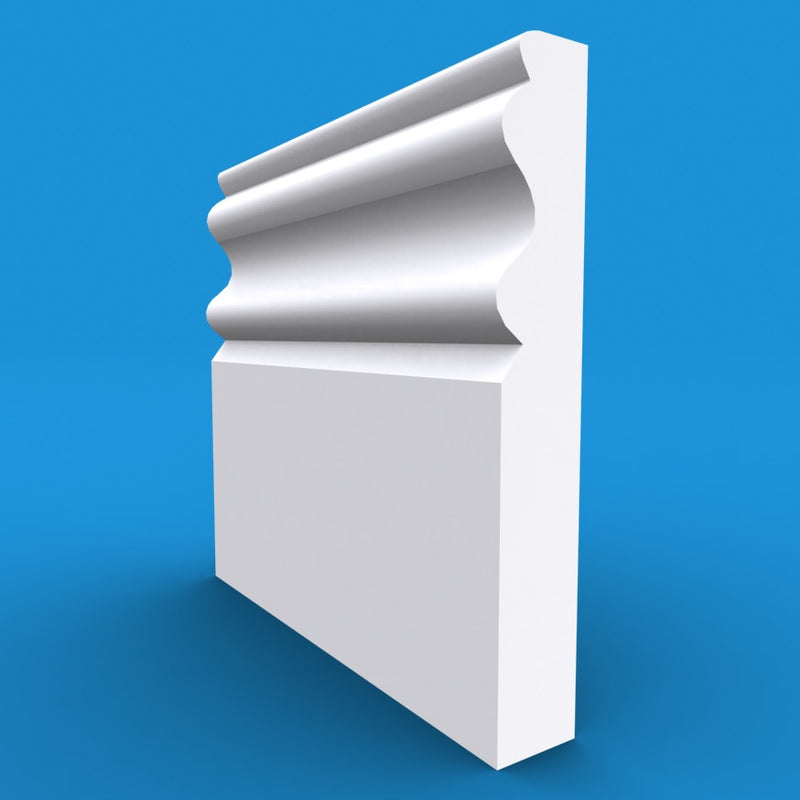 Regency D MDF Skirting Board