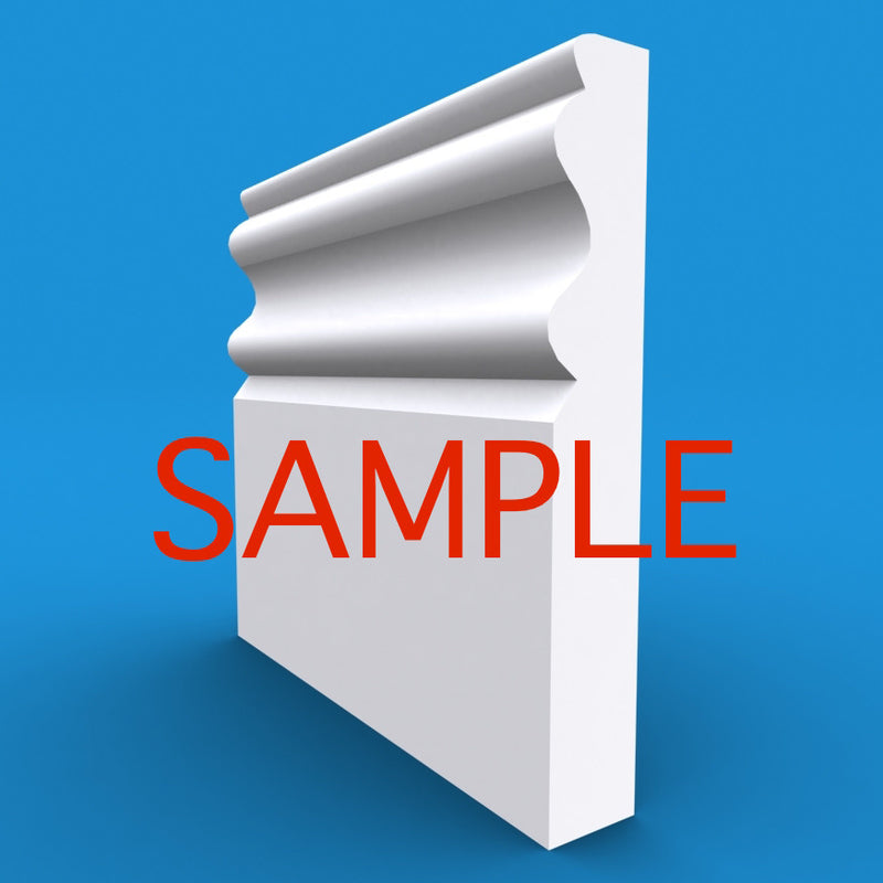 Regency D MDF Skirting Sample
